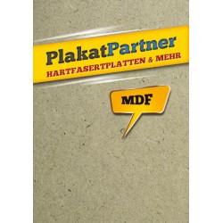 HDF Platte 244 x 122 cm - 5 mm